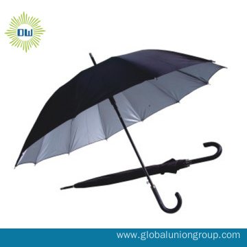 Long Handle Bicycle Sun Straight Umbrella